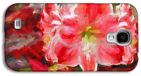Christmas Lilies Galaxy S4 Case