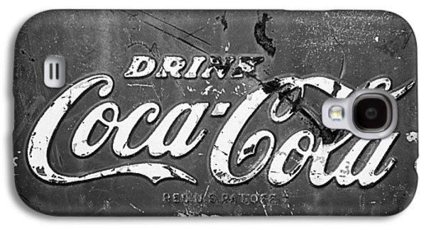Coca-cola Sign Galaxy S4 Case by Jill Reger