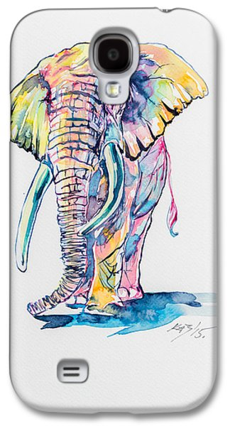 Colorful Elephant Galaxy S4 Case