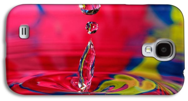 Colorful Water Drop Galaxy S4 Case