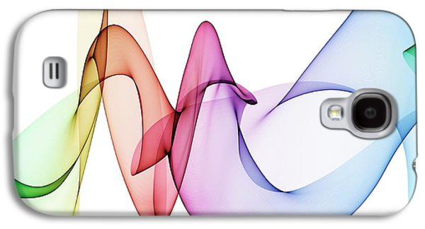 Colourful Abstract Patterns Galaxy S4 Case by Mehau Kulyk