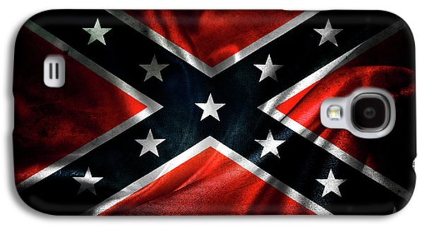 Nobody Galaxy S4 Case - Confederate Flag 1 by Les Cunliffe