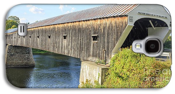 Cornish-windsor Covered Bridge  Galaxy S4 Case