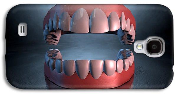 Creepy Teeth  Galaxy S4 Case