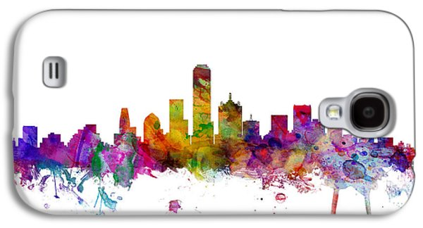 Dallas Texas Skyline Galaxy S4 Case