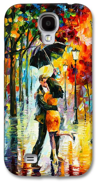 Dance Under The Rain Galaxy S4 Case by Leonid Afremov