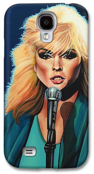 Deborah Harry Or Blondie Painting Galaxy S4 Case