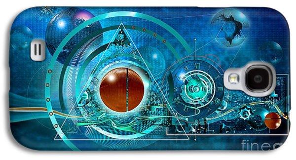 Digital Genesis Galaxy S4 Case by Franziskus Pfleghart