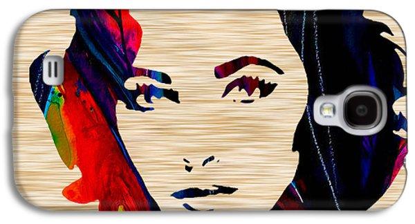 Elizabethtaylor Galaxy S4 Case by Marvin Blaine