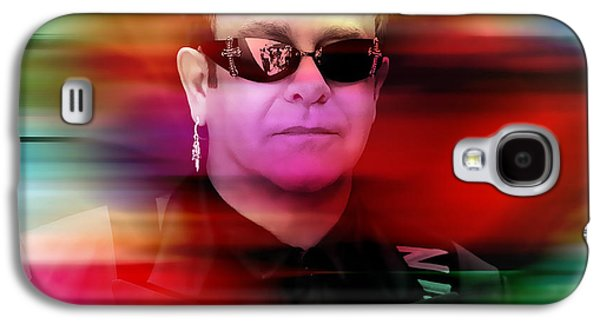 Elton John Galaxy S4 Case by Marvin Blaine