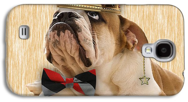 English Bulldog Bowtie Collection Galaxy S4 Case