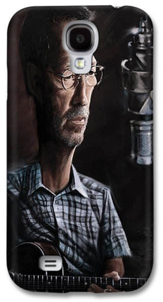 Eric Clapton Galaxy S4 Case by Andre Koekemoer