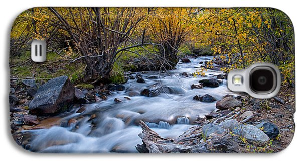 Fall At Big Pine Creek Galaxy S4 Case by Cat Connor