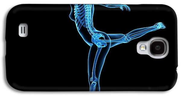 Female Dancer Galaxy S4 Case