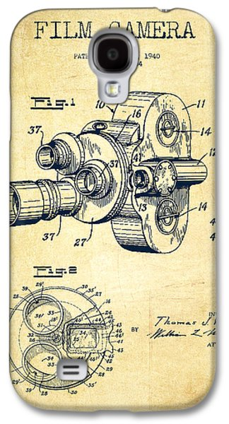 Film Camera Patent Drawing From 1938 Galaxy S4 Case by Aged Pixel