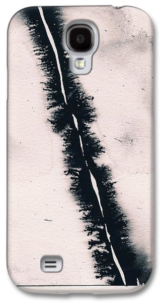 Galaxy S4 Case featuring the painting Fracture by Marc Philippe Joly
