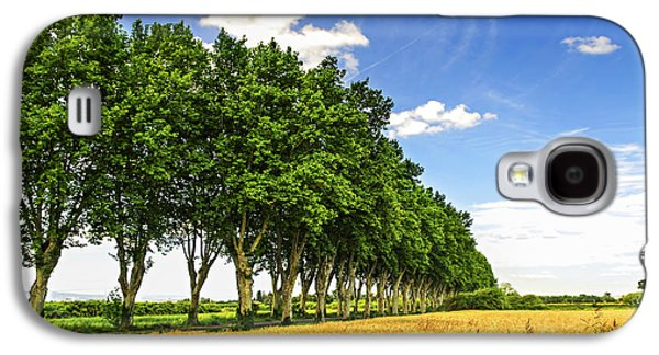 French Country Road Galaxy S4 Case by Elena Elisseeva