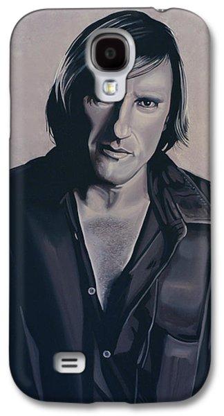 Gerard Depardieu Painting Galaxy S4 Case by Paul Meijering