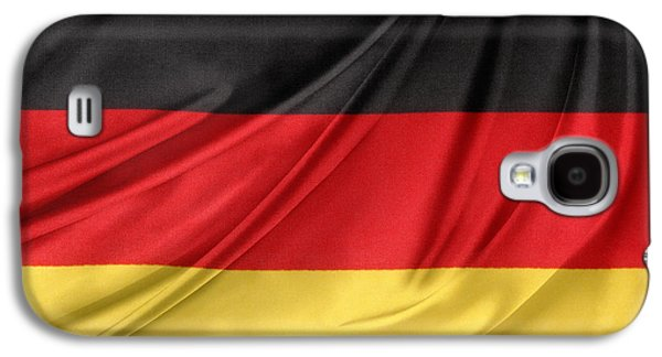 German Flag Galaxy S4 Case by Les Cunliffe