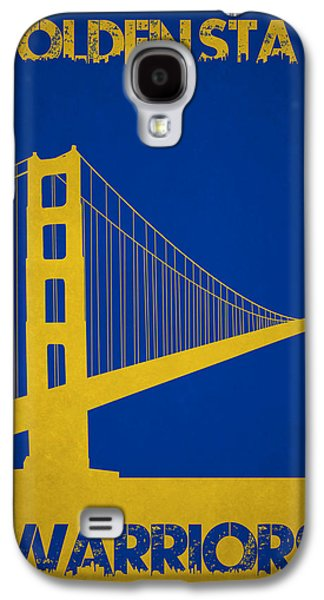 Golden State Warriors Galaxy S4 Case by Joe Hamilton