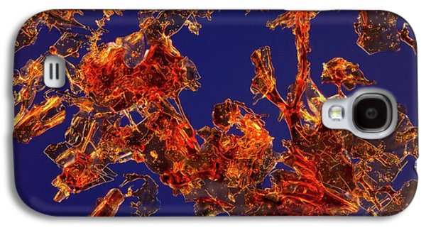 Haemoglobin Crystals Galaxy S4 Case