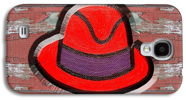 Big Red Hat Galaxy S4 Case by Patrick J Murphy