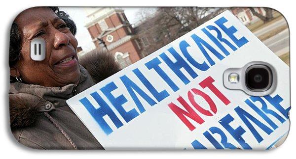 Healthcare Reform Campaign Galaxy S4 Case by Jim West