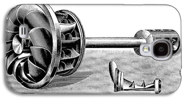 Hercule-progres Turbine Galaxy S4 Case