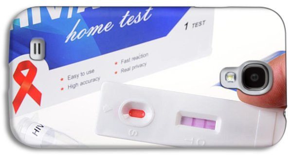 Hiv Home Blood Test Galaxy S4 Case by Cordelia Molloy