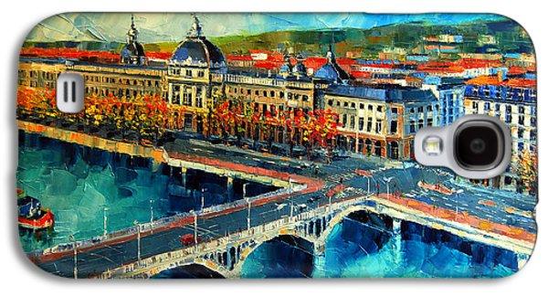 Hotel Dieu De Lyon Galaxy S4 Case by Mona Edulesco