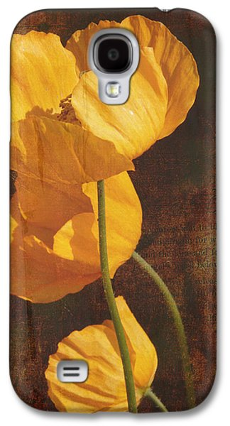 Icelandic Poppy Galaxy S4 Case by Bellesouth Studio
