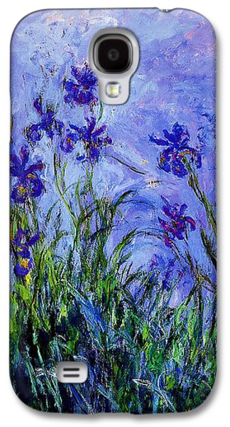 Irises Galaxy S4 Case by Celestial Images