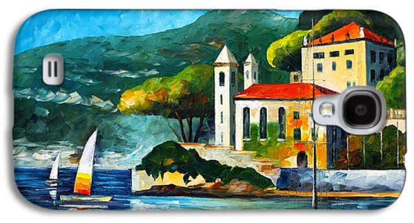 Italy Lake Como Villa Balbianello Galaxy S4 Case