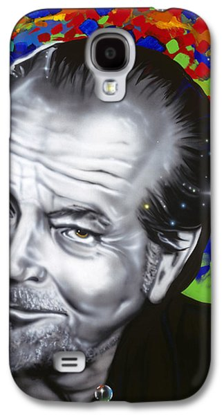 Jack Galaxy S4 Case by Alicia Hayes