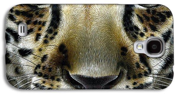 Jaguar Cub Galaxy S4 Case by Jurek Zamoyski