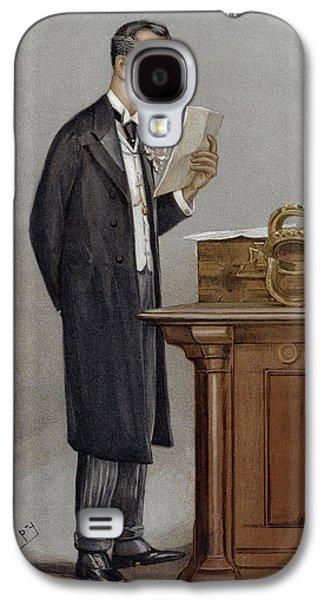 Joseph Chamberlain (1836-1914) Galaxy S4 Case by Granger