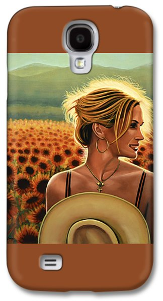 Julia Roberts Galaxy S4 Case by Paul Meijering