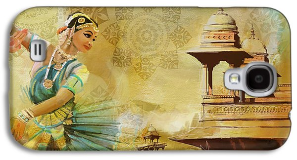 Kathak Dancer Galaxy S4 Case by Catf