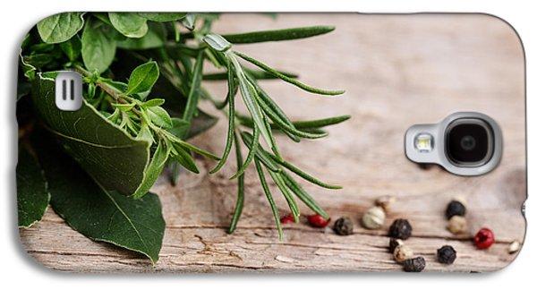 Kitchen Herbs Galaxy S4 Case by Nailia Schwarz