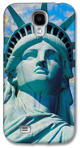 Lady Liberty Galaxy S4 Case