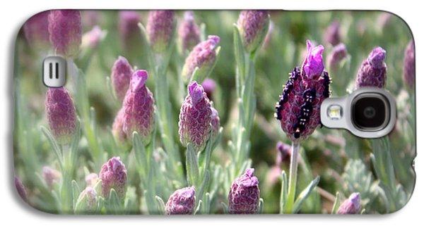 Lavender Standout Galaxy S4 Case by Carol Groenen