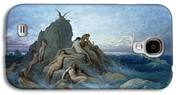 Les Oceanides Galaxy S4 Case by Gustave Dore