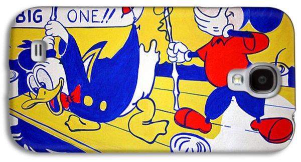 Lichtenstein's Look Mickey Galaxy S4 Case by Cora Wandel