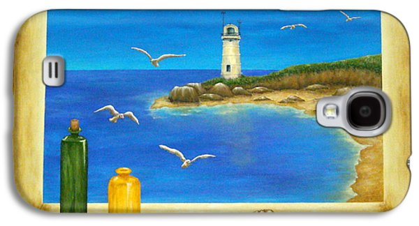 Lighthouse View Galaxy S4 Case
