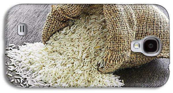Long Grain Rice In Burlap Sack Galaxy S4 Case