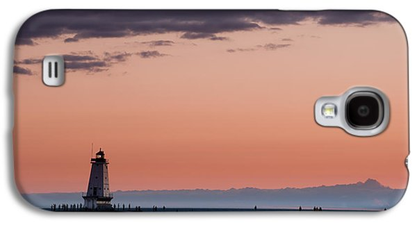 Ludington North Breakwater Lighthouse Galaxy S4 Case by Sebastian Musial