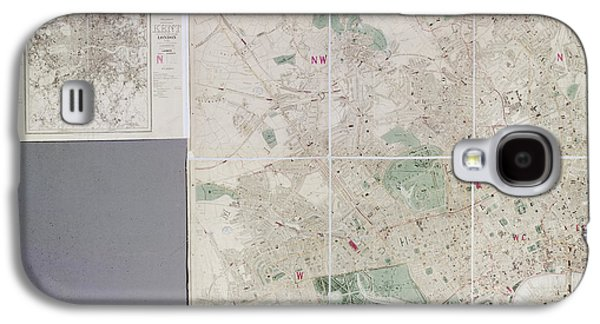 Map Of London Galaxy S4 Case