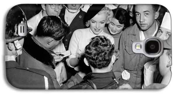 Marilyn Monroe In Korea Galaxy S4 Case