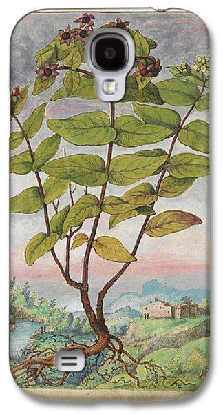 Medicinal Plant Galaxy S4 Case by British Library
