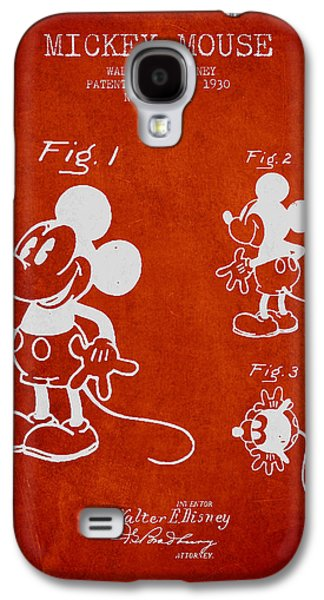 Mickey Mouse Patent Drawing From 1930 Galaxy S4 Case